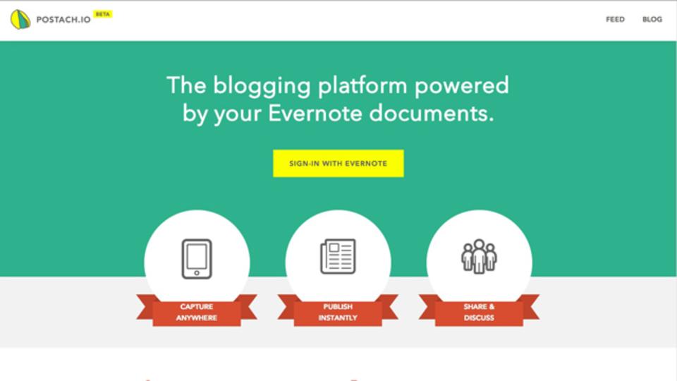 Evernoteノートブックをそのままブログにする「Post…