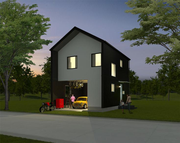家づくりをしたい生活者と専門家を結ぶマッチング型のウェブサービス「SuMiKa」が発表したスマートメイド住宅「SMARTMADE」。WEB上で気軽に住みたい家をカスタマイズできるサービスだ。家族でワイワイ楽しみながら暮らしを想像し、シミュレーションするのも楽しいだろう。3