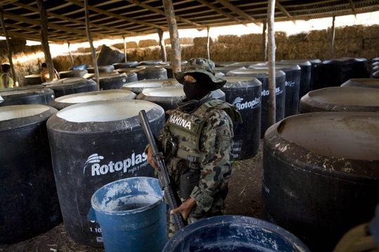 メキシコの麻薬王エル・チャポ・グズマンの本拠地が合成ドラッグ製造の温床に