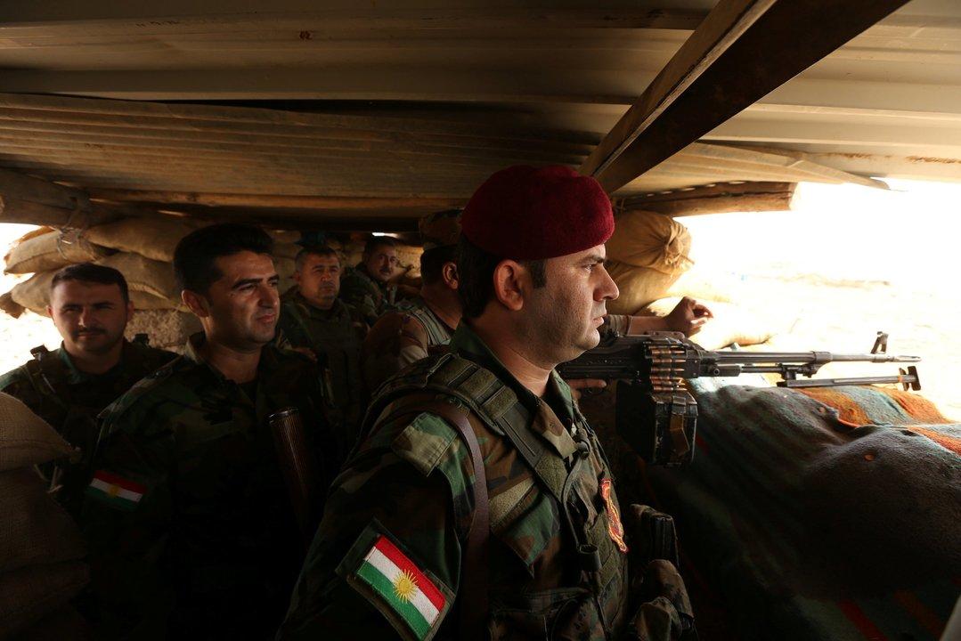 クルド人民兵組織ペシュメルガ