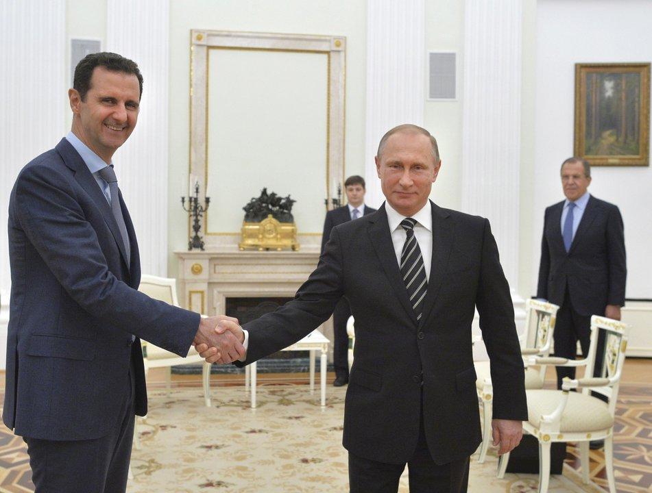 プーチン大統領とシリアのアサド大統領
