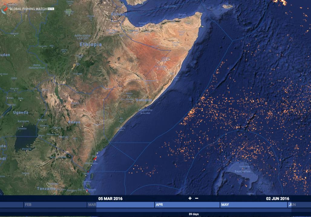 ソマリアの排他的経済水域
