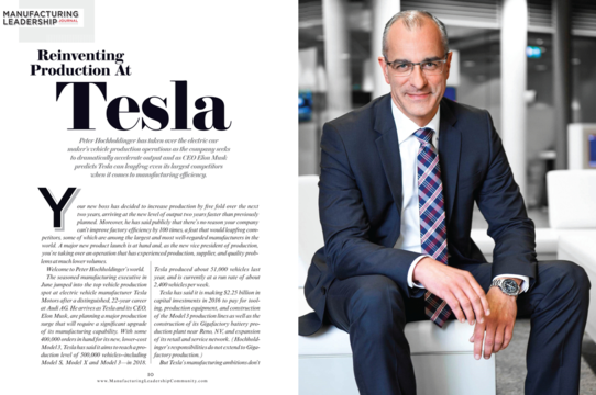 「テスラ モデル3」が自動車業界を変える
