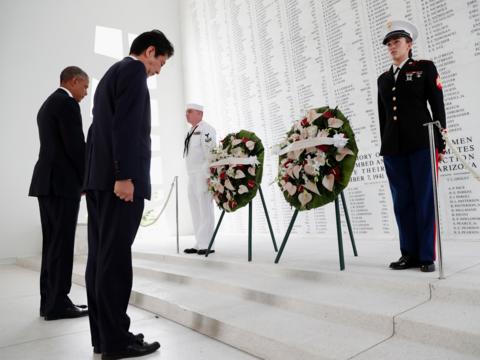 「我々は戦争の悲劇を二度と繰り返してはならない」 日米首脳が真珠湾を訪問