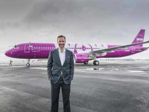 WOW Air CEO Skuli Mogensen