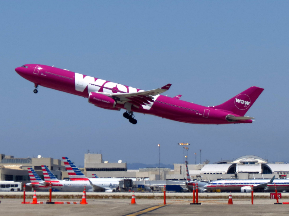 A WOW Air Airbus A330