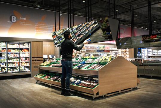 """MIT教授がデザインした""""未来型スーパーマーケット""""がミラノにオープン"""