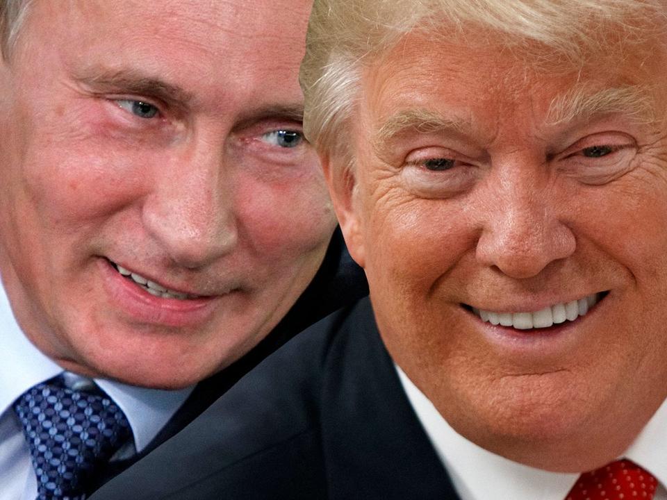 プーチン大統領とドナルド・トランプ大統領