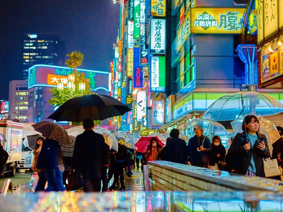 現在の東京