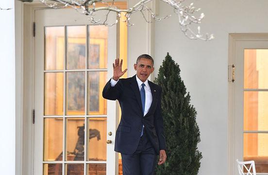 「ありがとう」の言葉を国民に残し、オバマ大統領は大統領執務室をあとにした