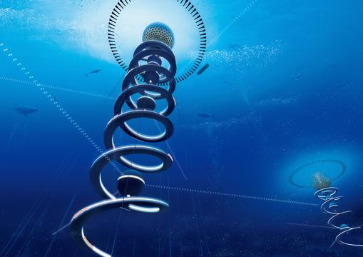 最後のフロンティア「深海」の可能性を活かした未来都市構想