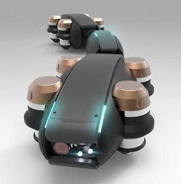 水道管に潜入するロボット、シャフトをGoogleへ売却した加藤氏が開発