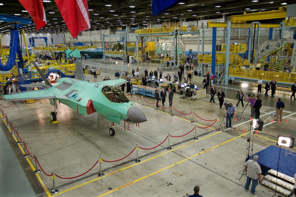 テキサス州ロッキード・マーティンのF-35 Lightning II 製造施設