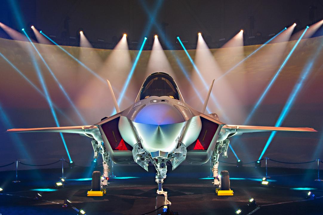 イスラエル初のF-35A Lightning II