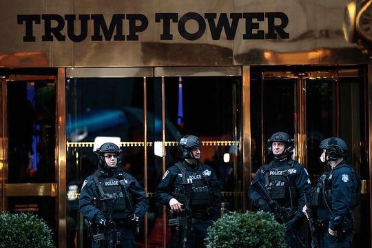 トランプタワーの厳重な警備でティファニーの売上が減少