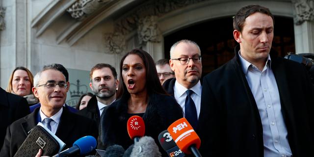 EU離脱通知には議会の承認が必要、英最高裁が政府の訴えを却下