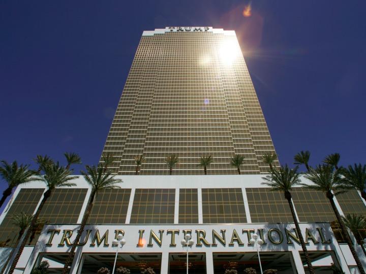 2008年にオープンしたトランプインターナショナルホテル&タワー ラスベガス