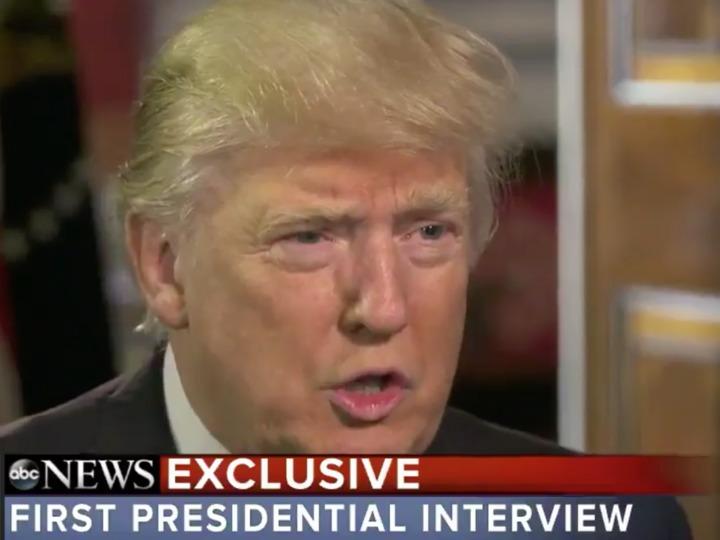 「数カ月以内」と述べるトランプ大統領