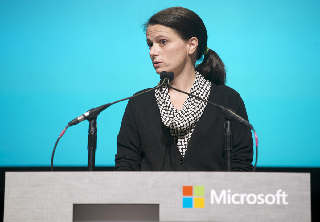 Microsoft CFO エイミー・フッド氏