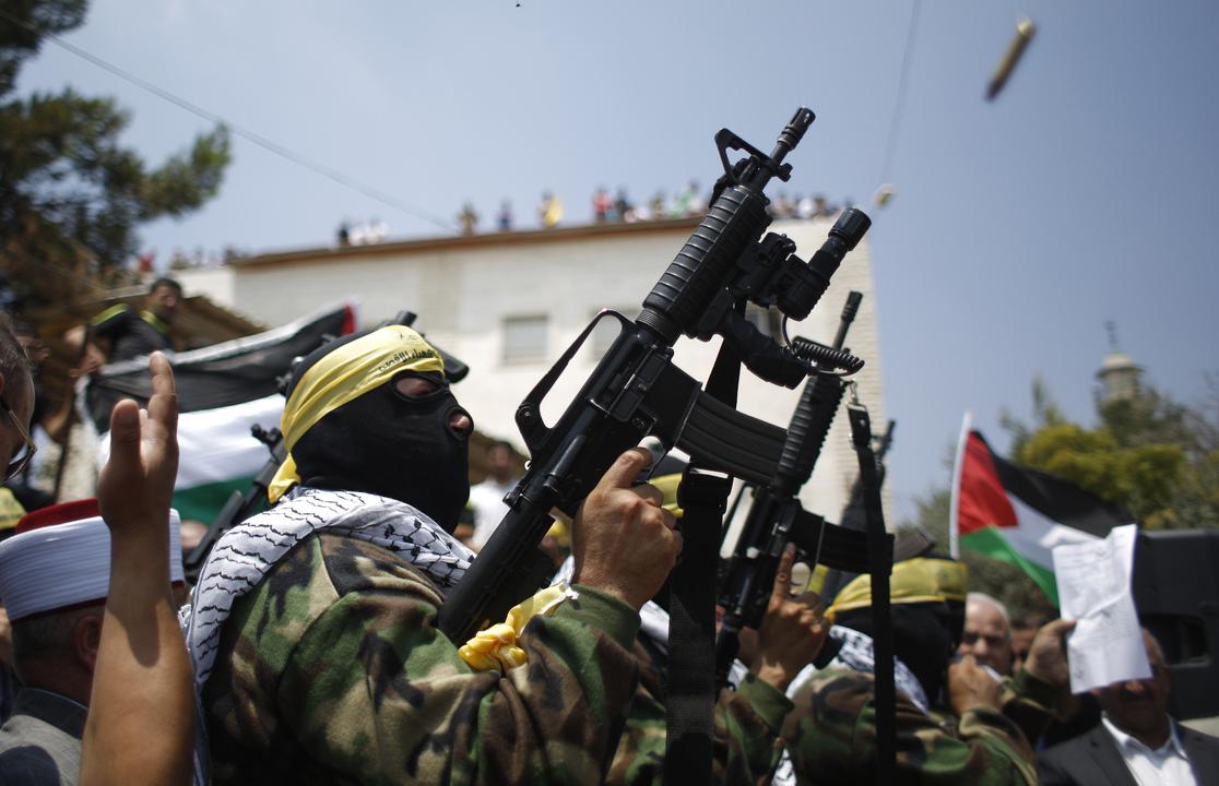 パレスチナの兵士