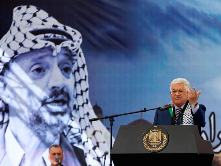 アフムード・アッバス大統領
