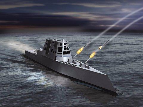 米海軍新鋭艦の「1発1億円」主砲は高すぎて撃てない!