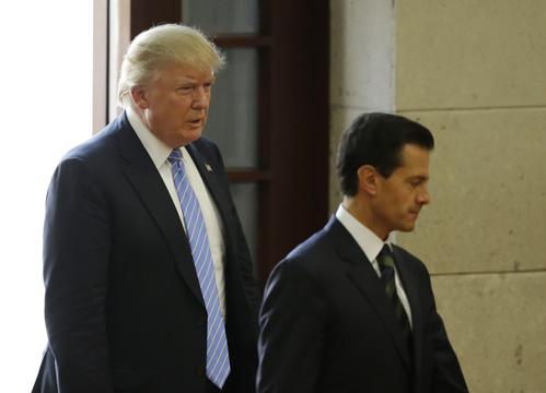 トランプ大統領が 「屈辱的」かつ「脅迫的な」 態度でメキシコ大統領を非難