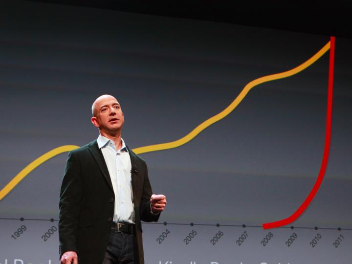 アマゾンCEO ジェフ・ベゾス、「Amazon Echo」に音楽ビジネスの未来を ...