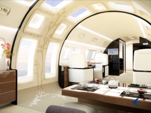 「日本人を想定してデザインした」前代未聞の機内インテリア、ブラジルの航空機メーカー