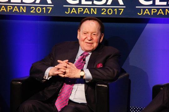 米カジノ王・アデルソン氏 「ベガスを変えた。シンガポールを変えた。次は日本だ」