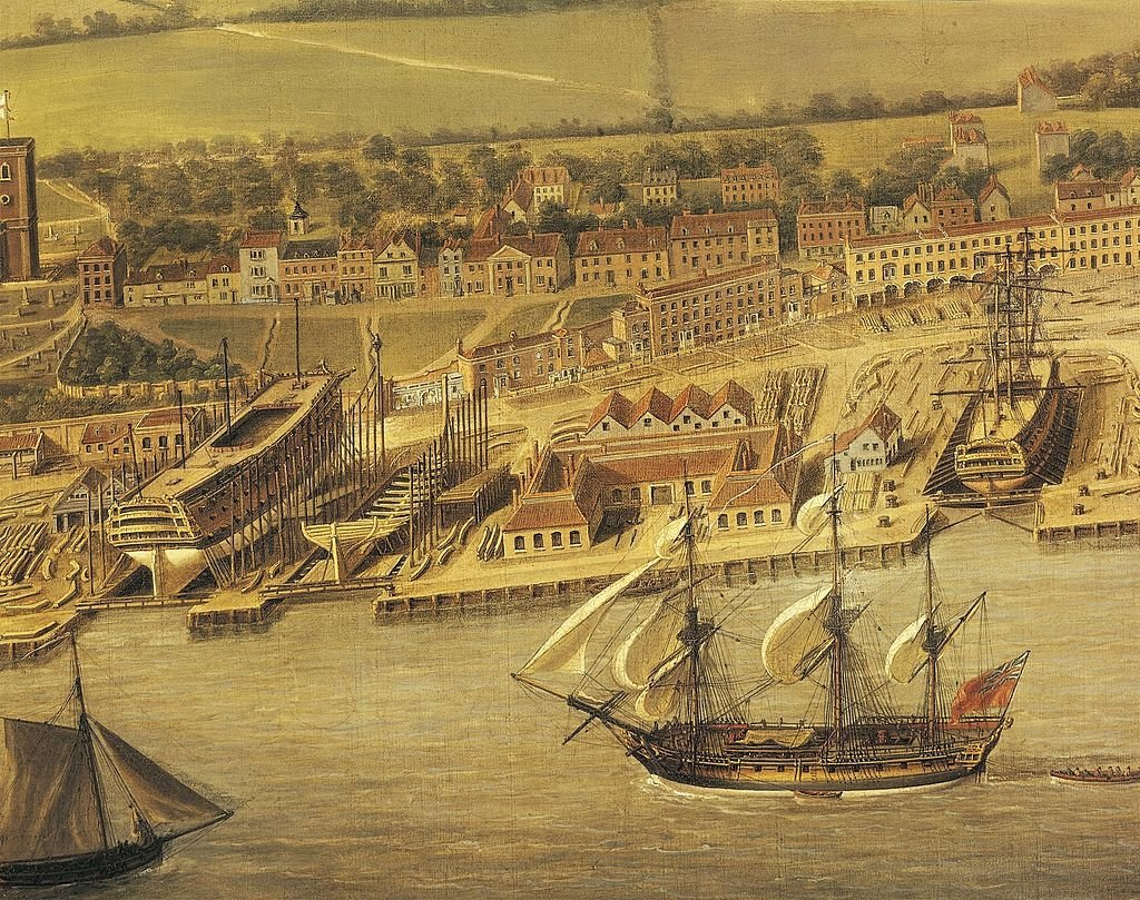 by-the-11th-century-london-had-the-largest-port-in-england