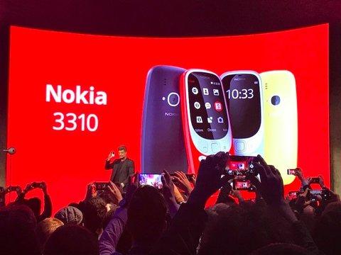 名機「Nokia3310」、カメラを搭載し、復活