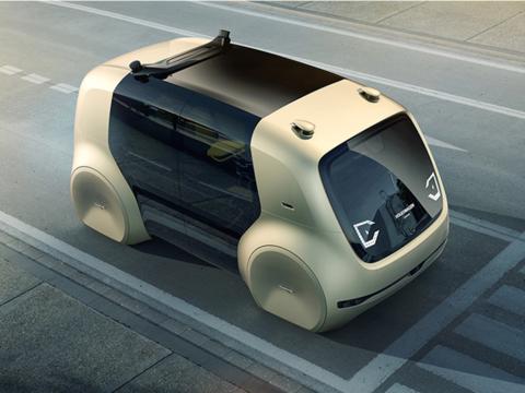 フォルクスワーゲン初の自動運転コンセプトカーは、ハンドルなしの「走るラウンジ」