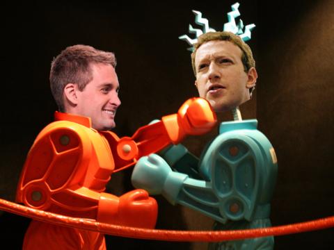 Facebookがカメラ機能中心の戦略へシフト、まるでSnapchatのように