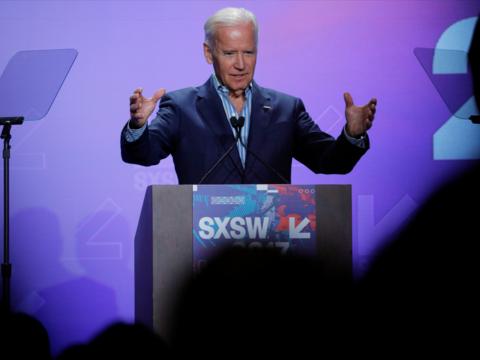 ジョー・バイデン前副大統領がSXSWに登壇「癌克服のカギを握っているのはトランプ政権」