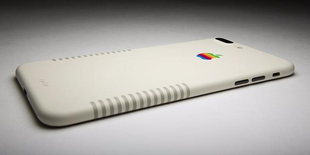 次期iPhoneより、80年代Mac風のiPhone 7 Plusが欲しくなるかも