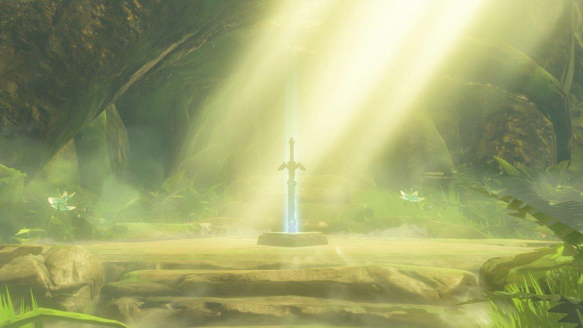 ゼルダの伝説の初期画面