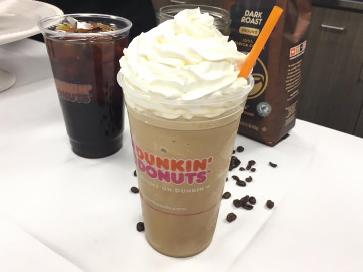 ダンキンドーナツの「コーヒー・クーラッタ」