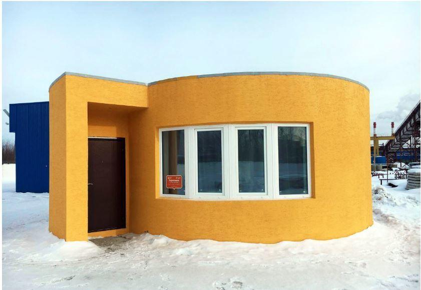 3Dプリントハウス