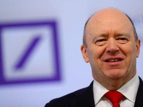ドイツ銀行CEO