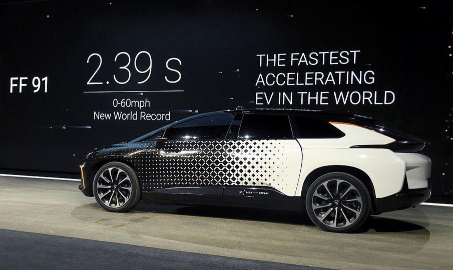 Faraday Futureの電気自動車