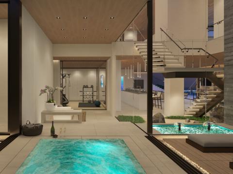 「五つ星ホテル」のような住宅がアメリカのセレブに人気
