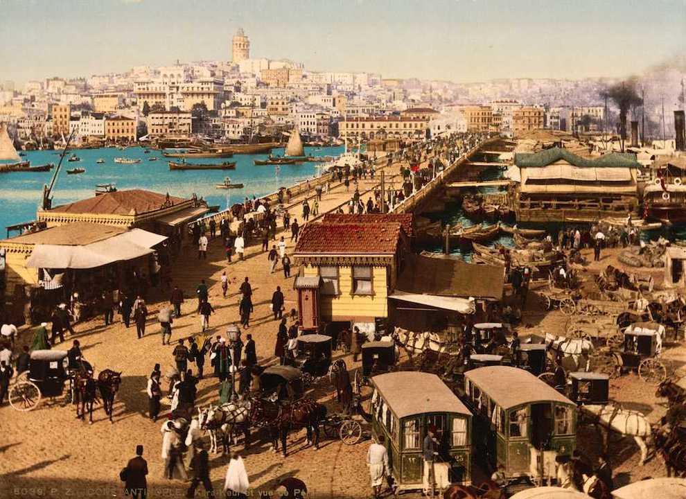 19世紀のイスタンブール