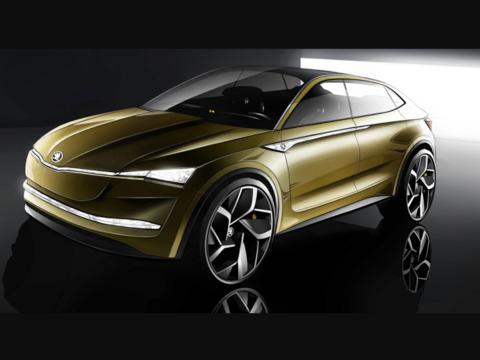 VWグループがSUVスタイルのEVコンセプトカー「ビジョンE」発表、レベル3の自動運転にも対応