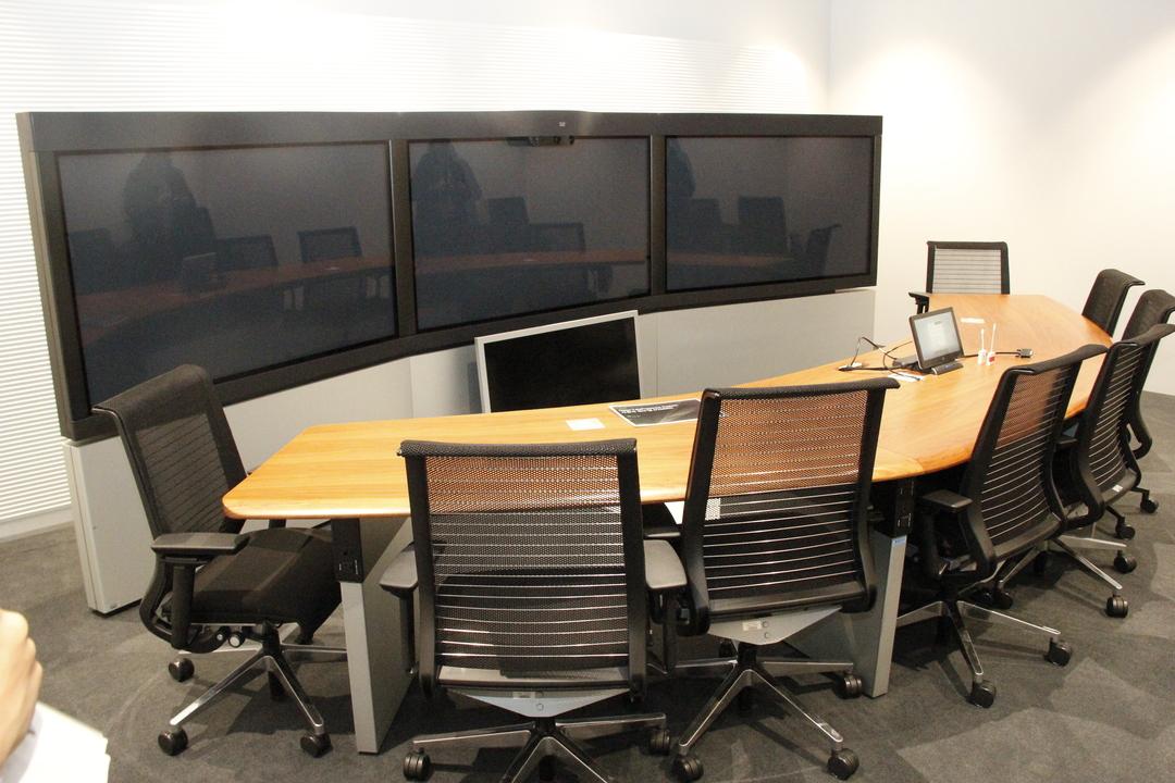 ビデオ会議の部屋