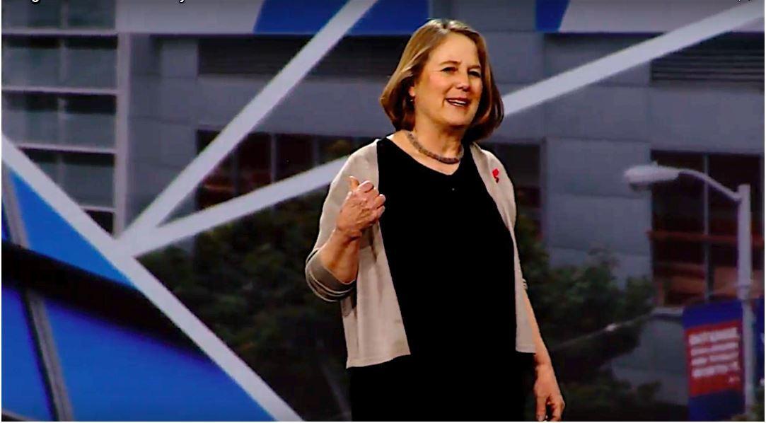 Google Cloud chief Diane Greene