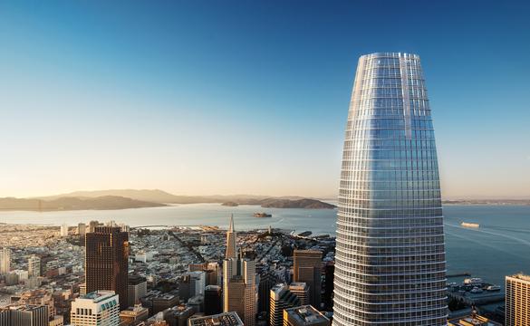 サンフランシスコで最も高いビル、7月に完成