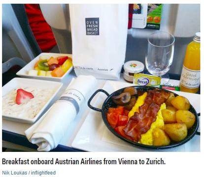 世界を旅するブロガーが選ぶ、機内食ベスト5