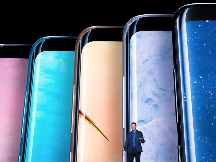サムスン、Galaxy S8を発表