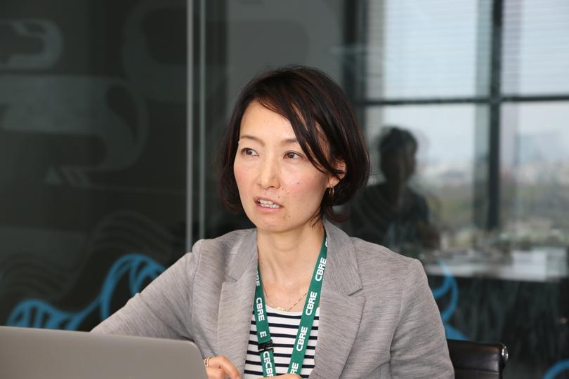 調査を担当したCBREのアソシエイトディレクター貝畑奈央子氏